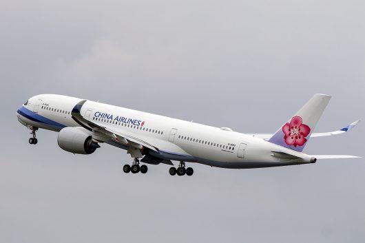 CI/CAL/チャイナエアライン  A350-900 B-18910