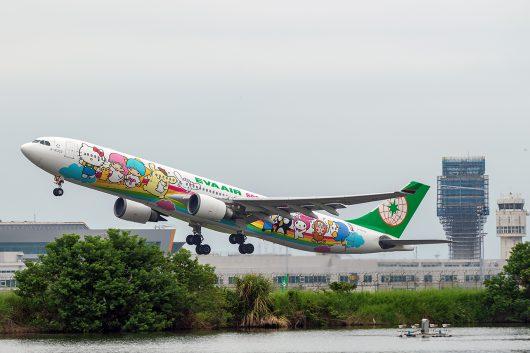 BR/EVA/エバー航空  A330-300 B-16332