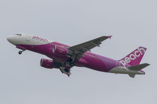 MM/APJ/ピーチアビエーション  A320 JA814P