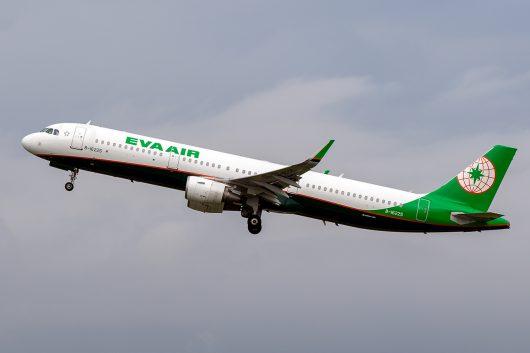 BR/EVA/エバー航空  A321 B-16225