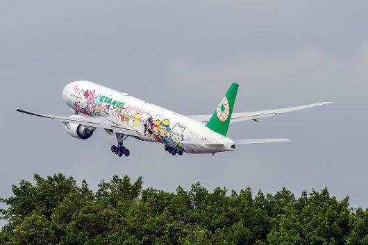 BR/EVA/エバー航空  B777-300ER B-16703