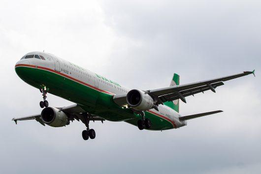 BR/EVA/エバー航空  A321 B-16202