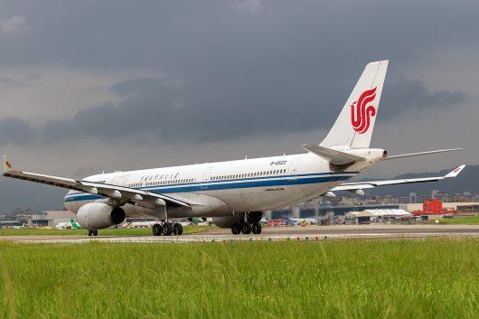 CA/CCA/中国国際航空 A330-300 B-6523