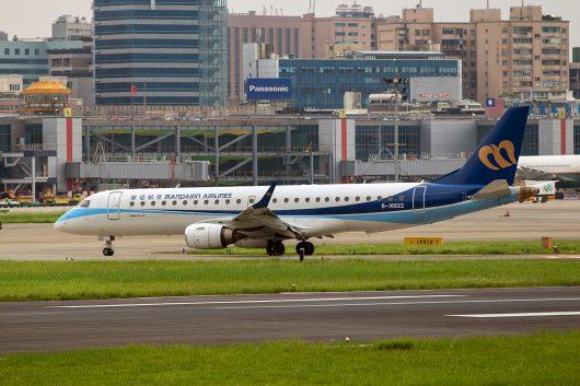 AE/MDA/マンダリン航空 ERJ190 B-16822