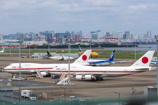 日本国政府専用機 20-1102 B747-400