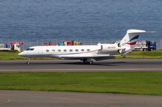 /Biz/Biz-Jet  GulfstreamG650  N871FR
