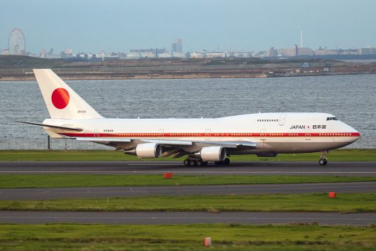 日本国政府専用機 20-1101 B747-400