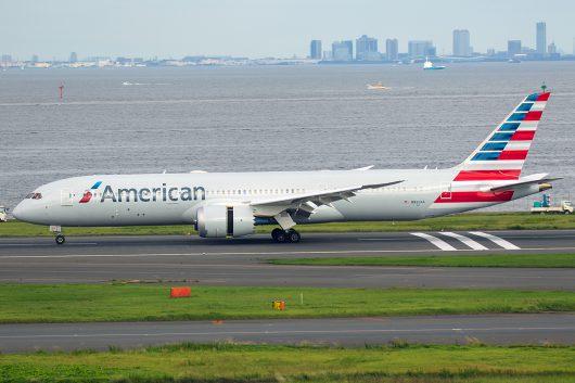 AA/AAL/アメリカン航空 AA27 B787-8 N833AA