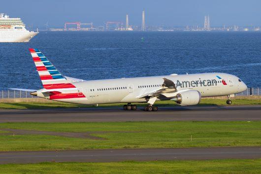 AA/AAL/アメリカン航空  B787-8 N833AA