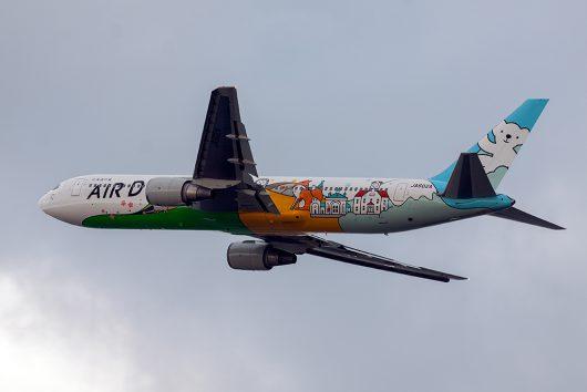 HD/ADO/エアドゥ B767-300 JA602A