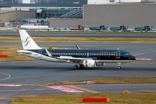 7G/SFJ/スターフライヤー A320 JA25MC