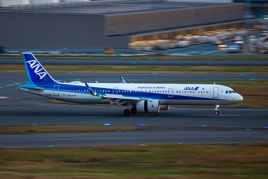 NH/ANA/全日空  A321Neo JA138A