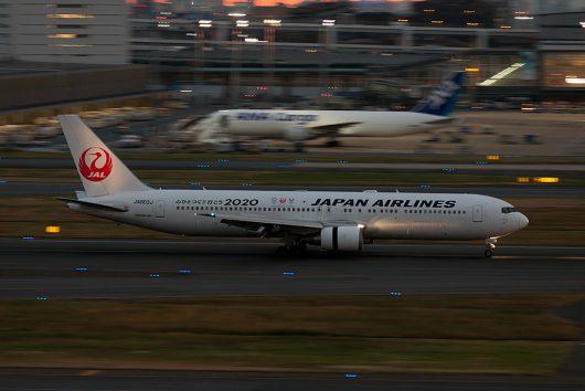 JL/JAL/日本航空  B767-300ER JA603J
