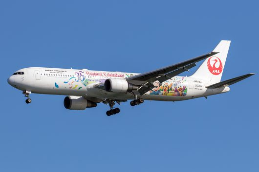 JL/JAL/日本航空 JL114 B767-300ER JA612J