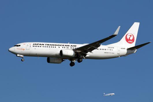 NU/JTA/日本トランスオーシャン航空 NU70 B737-800 JA04RK