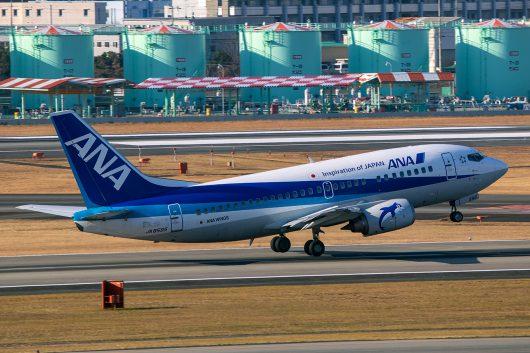 NH/ANA/全日空  B737-500 JA8595