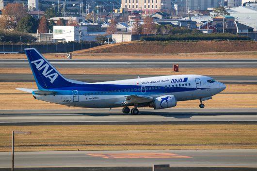 NH/ANA/全日空  B737-500 JA300K