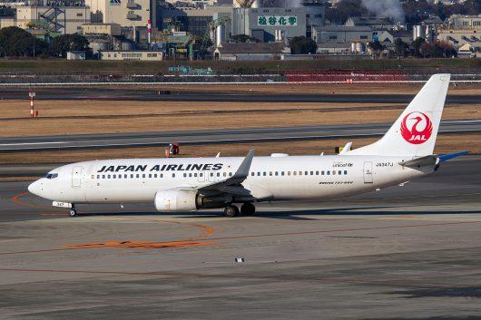 JL/JAL/日本航空  B737-800 JA347J