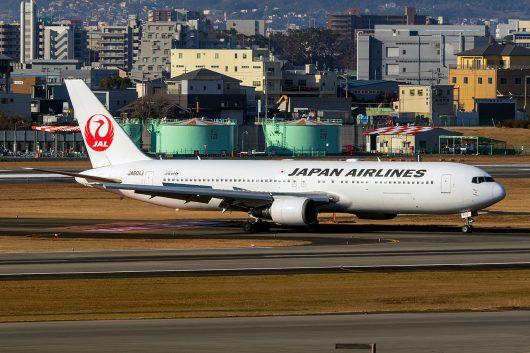 JL/JAL/日本航空  B767-300ER JA601J