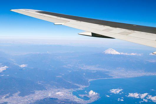 三保沖からの富士山