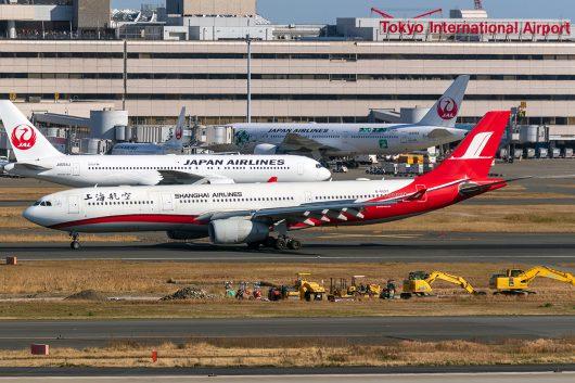 FM/CSH/上海航空  A330-300 B-6097