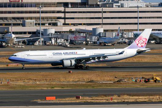 CI/CAL/チャイナエアライン  A330-300 B-18303