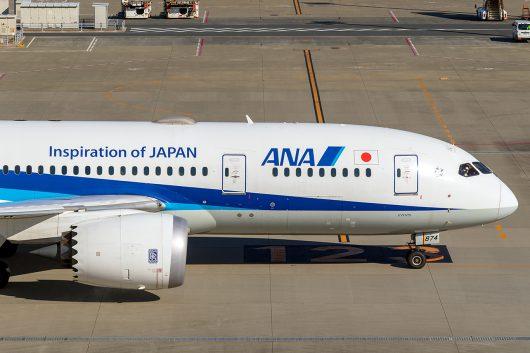 NH/ANA/全日空  B787-9 JA872A