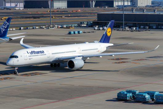 LH/DLH/ルフトハンザ・ドイツ航空 A350-900 D-AIXA