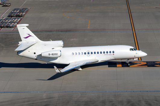 /BIZ/BIZ-Jet  Falcon 7X B-8202