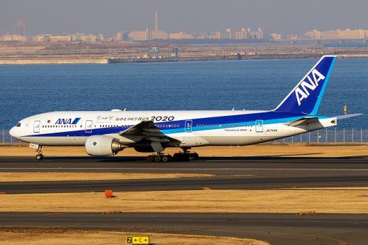 NH/ANA/全日空  B777-200ER JA744A
