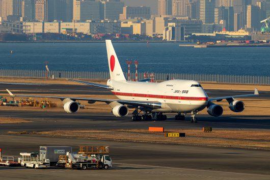JAF/JASDF/航空自衛隊  B747-400 20-1102