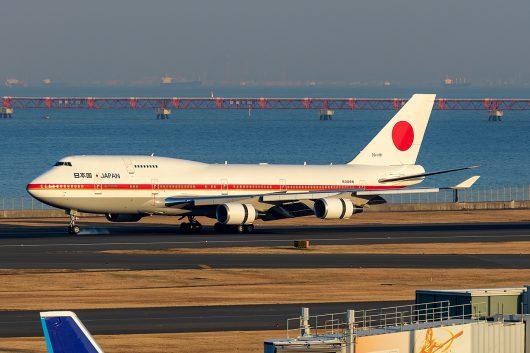 JAF/JASDF/航空自衛隊  B747-400 20-1101