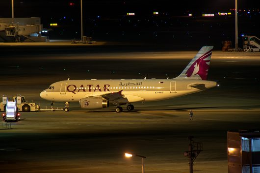 カタール空軍/Qatar Emili Air Force A319 A7-HHJ
