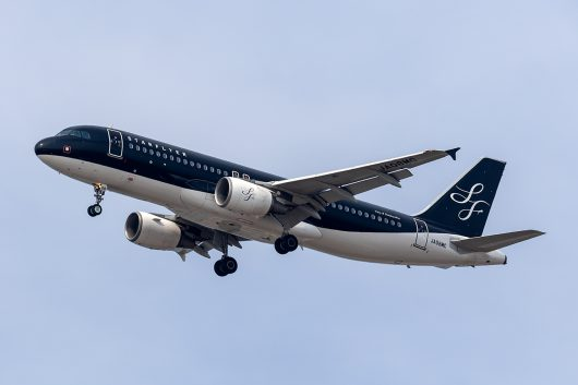 7G/SFJ/スターフライヤー  A320 JA08MC