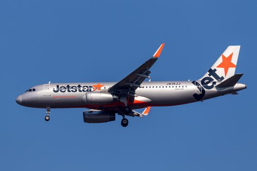 GK/JJP/ジェットスタージャパン GK412 A320 JA14JJ