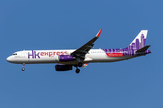 UO/HKE/香港エクスプレス航空 UO848 A321 B-LEE