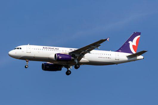 NX/AMU/マカオ航空 NX862 A320 B-MCJ