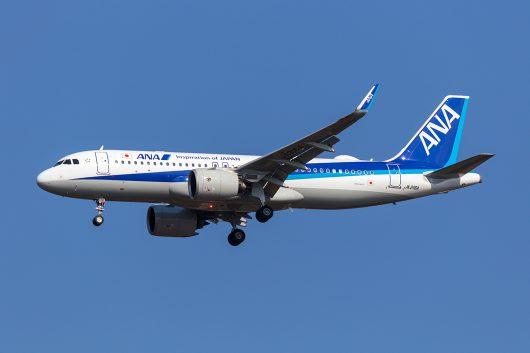 NH/ANA/全日空 NH926 A320Neo JA216A