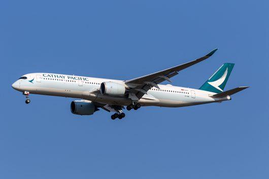CX/CPA/キャセイパシフィック航空 CX520 A350-900 B-LRB