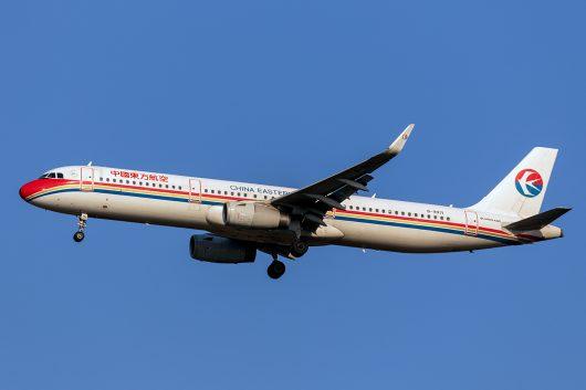 MU/CES/中国東方航空 MU521 A321 B-9971