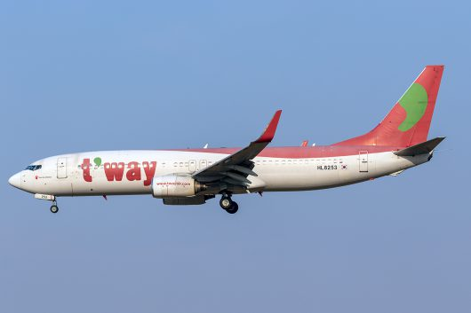 TW/TWB/ティーウェイ航空 TW207 B737-800 HL8253