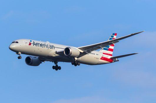 AA/AAL/アメリカン航空 AA169 B787-9 N840AA