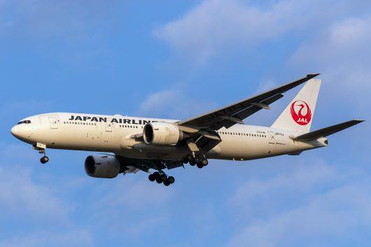 JL/JAL/日本航空 JL781 B777-200ER JA711J