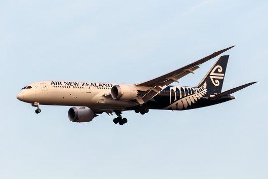 NZ/ANZ/ニュージーランド航空 NZ99 B787-9 ZK-NZH