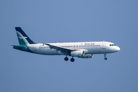MI/SLK/シルク・エア  A320 9V-SLR