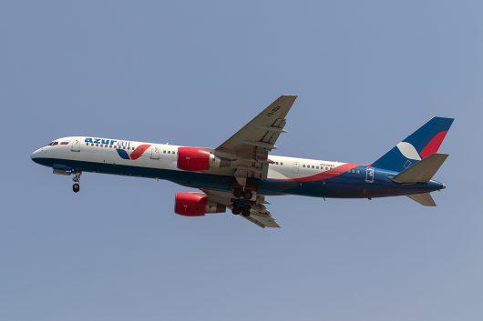 ZF/KTK/アズール・エア ZF8534 B757-200 VQ-BQA