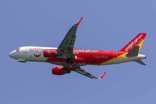 VZ/TVJ/タイ・ベトジェットエア VZ303 A320 HS-VKB