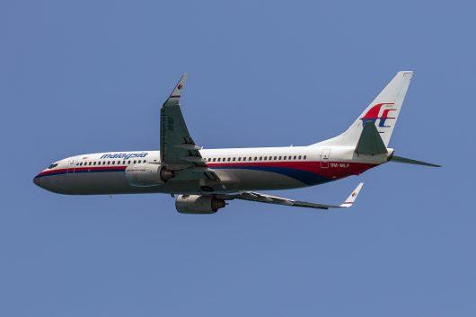 MH/MAS/マレーシア航空 MH787 B737-800 9M-MLF