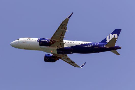 G8/GOW/ゴー・エア G842 A320Neo VT-WGP