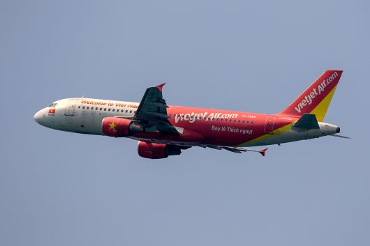 VJ/VJC/ベトジェット VJ808 A320 VN-A689